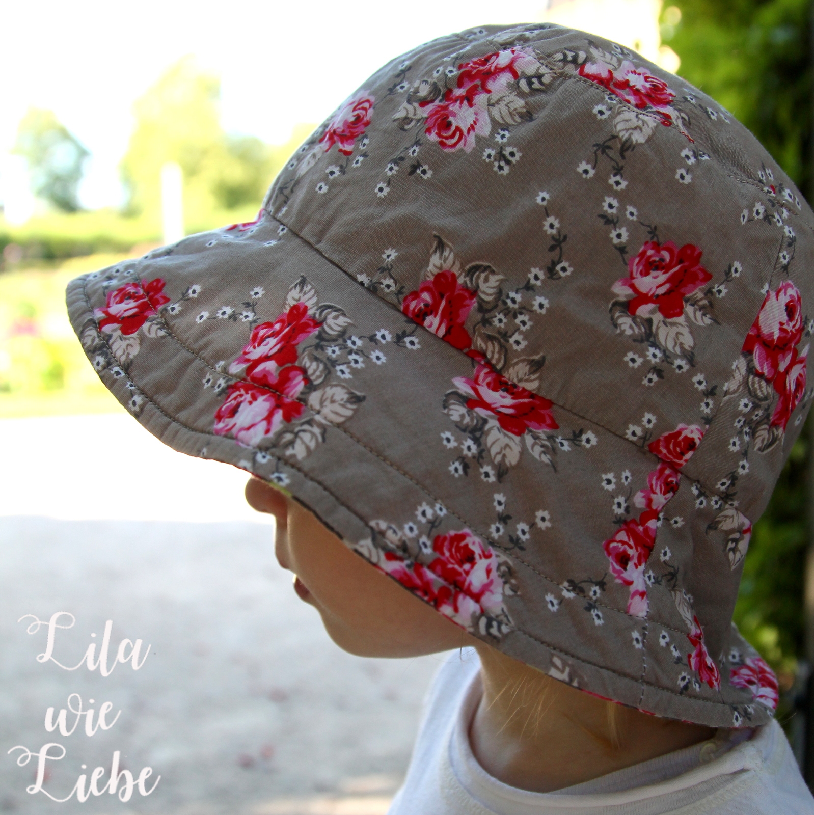Reversible Bucket Hat - Sommerhut (FREEBOOK, oliverands) - Lila wie ...