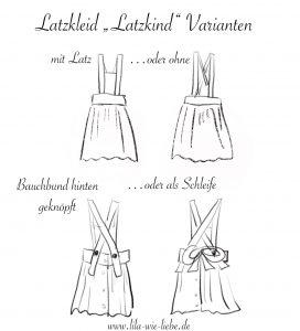 latzkind varianten latzrock