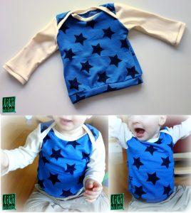 babyshirt, longsleeve babys, kostenlose anleitung, freebook