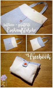 bullibag einkaufstasche gefuettert freebook kostenlose naehanleitung