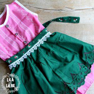 Sch/ürze rosa f/ür Dirndl Trachtenkleid Dirndlkleid Dirndlsch/ürze festliche Taftsch/ürze Trachten Mode Trachtenmode einf/ärbig hell-pink leichter Glanz apron