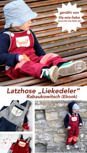 latzhose ebook für kinder nähen