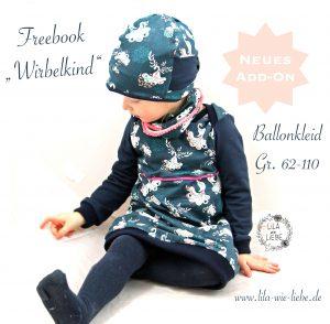 Babyballonkleid Nahen Freebook Wirbelkind Lila Wie Liebe
