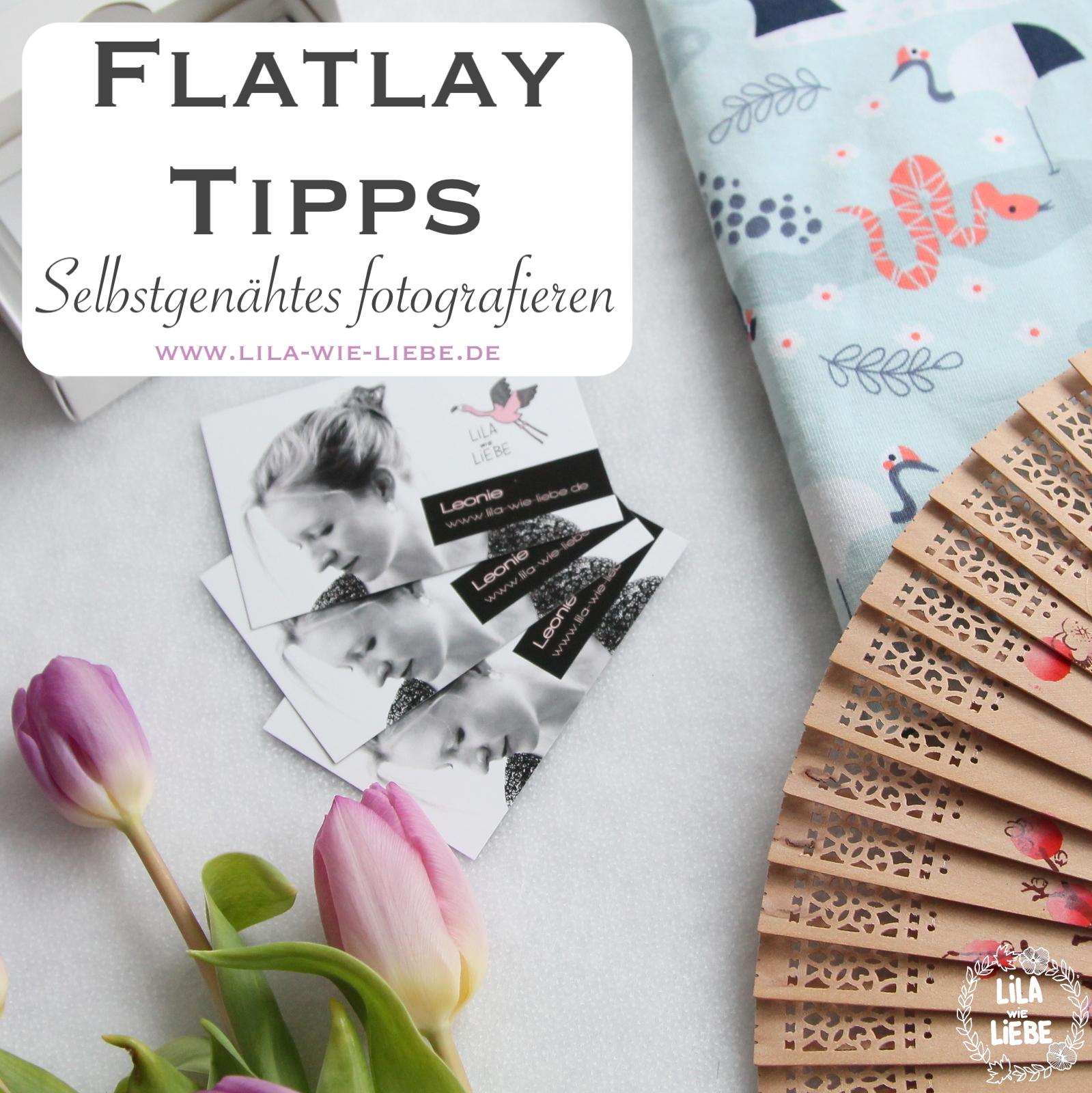 Flatlay Fotografieren Tipps Und Tricks Fur Selbstgenahtes Lila