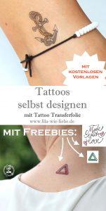 tattoos selbst designen vorlagen freebie