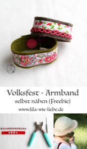 volksfest armband naehen tutorial kostenlose anleitung