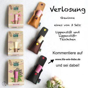werbung / kneipp lipcare verlosung lippenpflegestift
