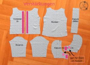 Jacke kostenlos einfache schnittmuster Schnittmuster für