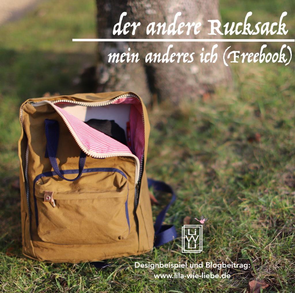 der andere Rucksack - freebook mein anderes Ich - Blogbeitrag zum Freebook