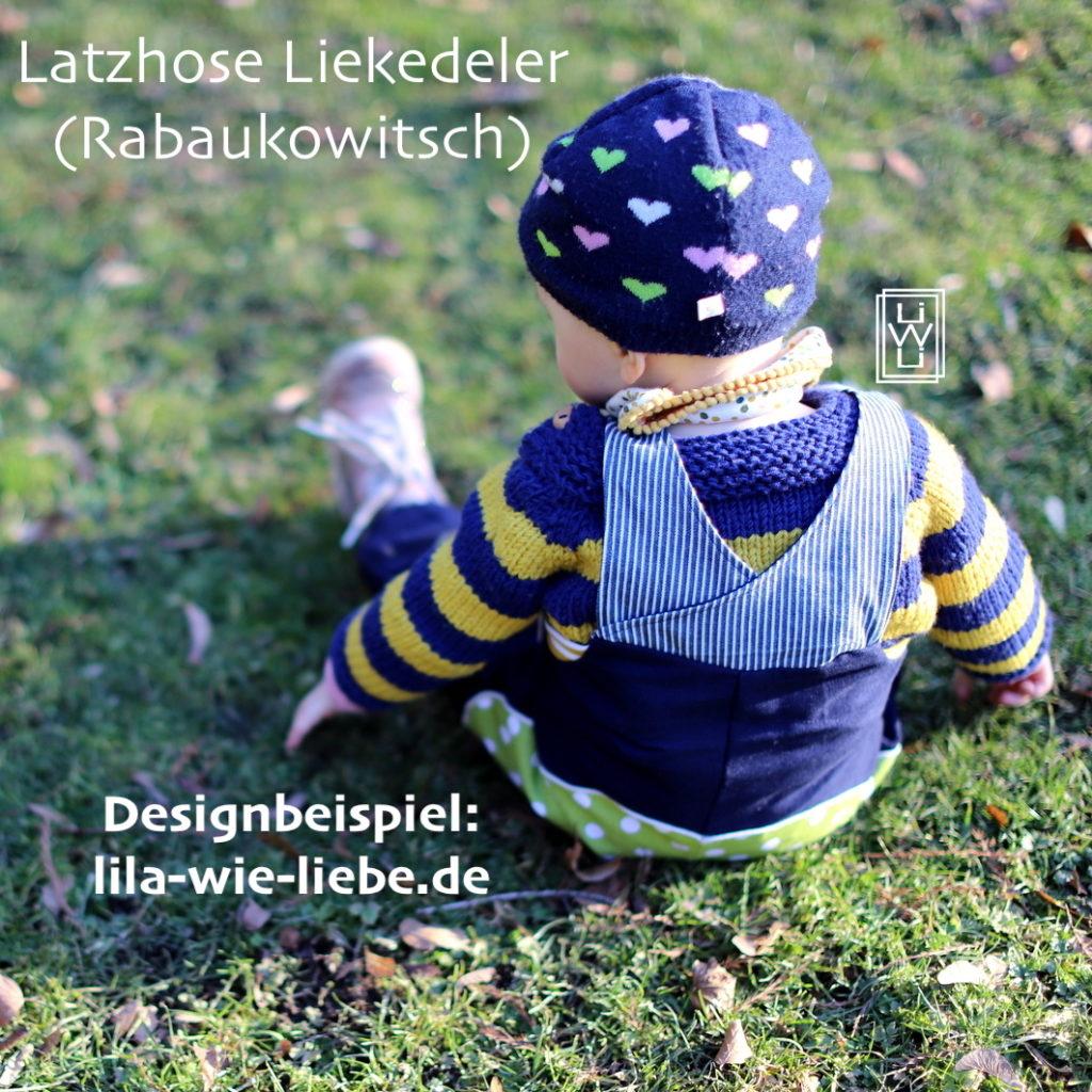 Latzhose für Kinder nähen, Ebook Liekedeler von Rabaukowitsch