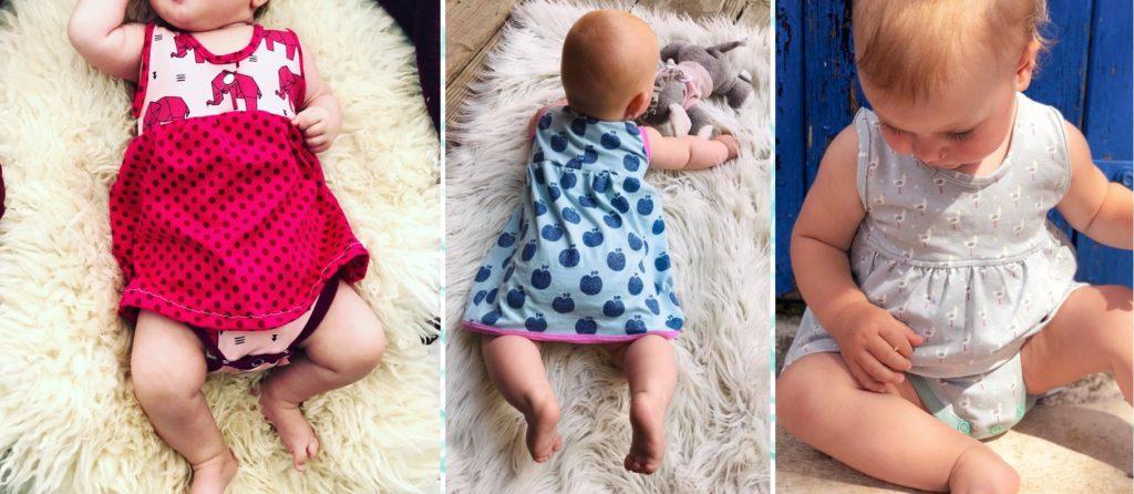 Kleid schnittmuster kostenlos baby Baby