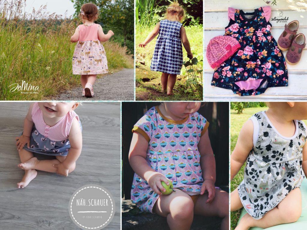 Freebook Bodykleid Sommerteilchen Gr 56 98 Lila Wie Liebe