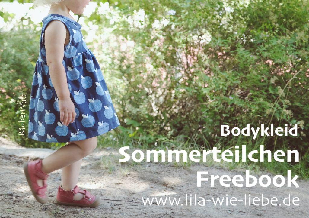 Kinderkleid bodykleid Schnittmuster