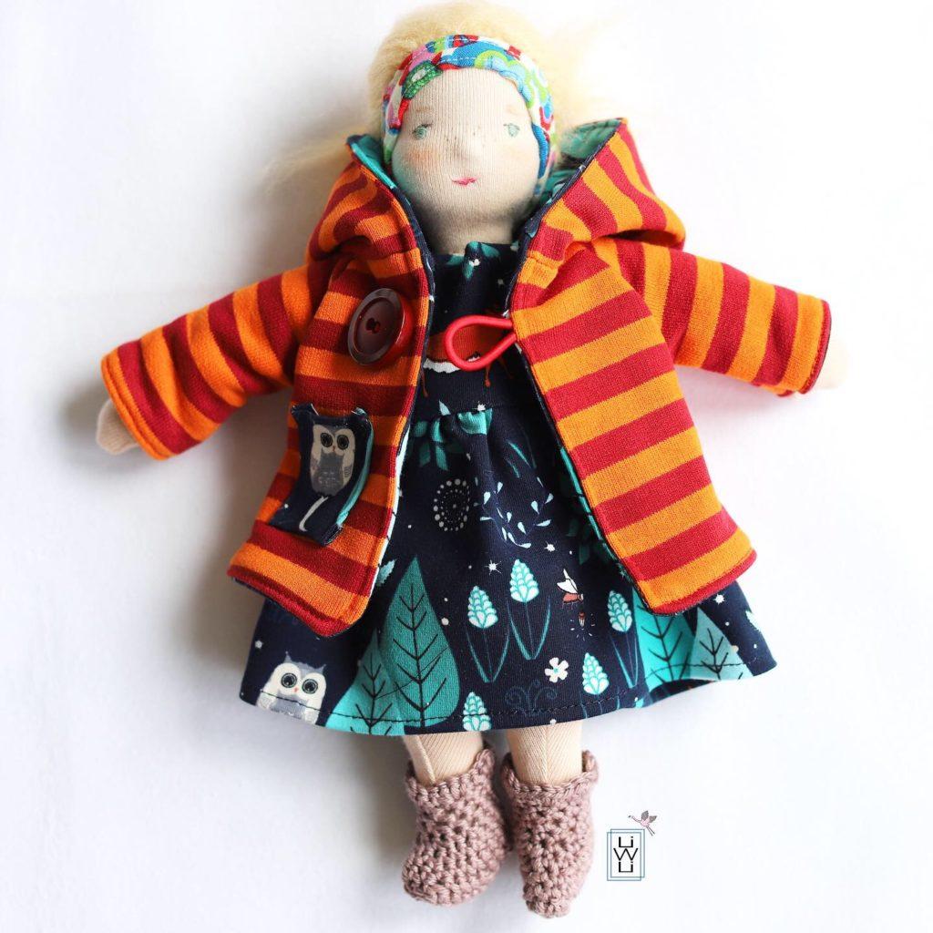 Schnittmuster puppenkleidung kostenlos nähen Schnittmuster Kinderkleidung