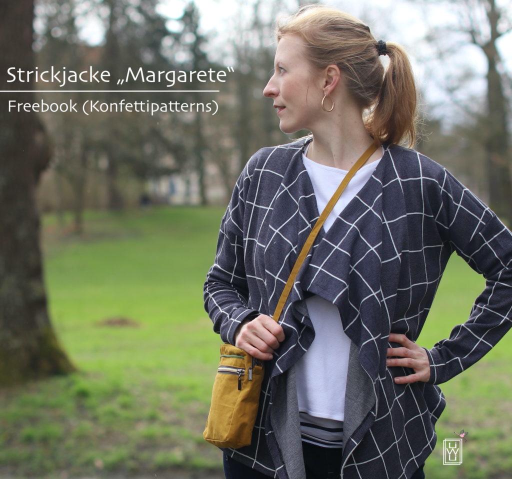 Freebook Damen Cardigan Margarete von Konfettipatterns