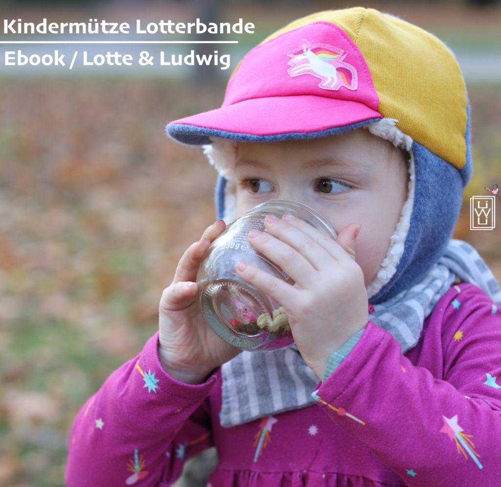 Lotterbande ebook Kindermütze Lotte und Ludwig Ebook Schnittmuster