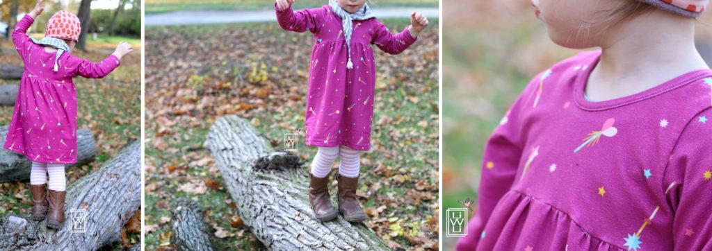 winterteilchen freebook petit citron Zauberstäbe Jersey winterteilchen Kinderkleid kostenloses Schnittmuster